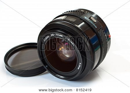 Zoom Lens With Filter