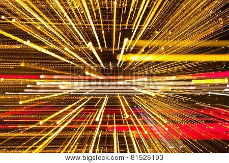 Abstract speed technology background fiber optics