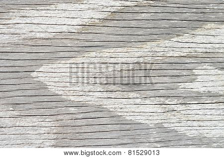 White weathered wood