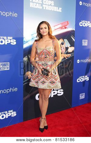 LOS ANGELES - AUG 7:  Nina Dobrev at the