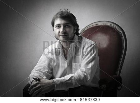 Portrait of a chairman