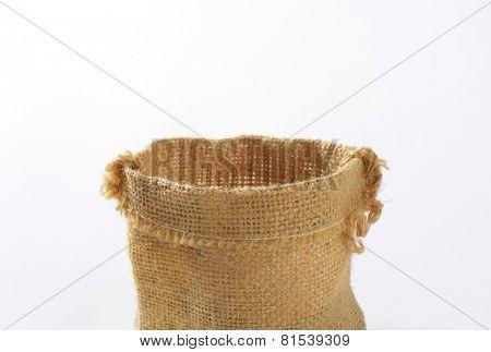 woven burlap bag