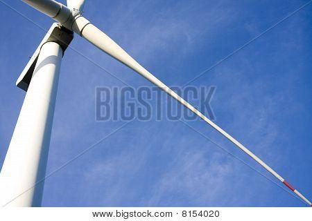 Close Up Of Windmill