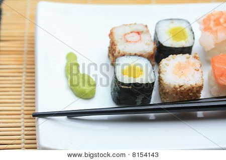 Different Sorts Of Sushi