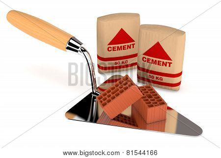 Bricks And Building Tools