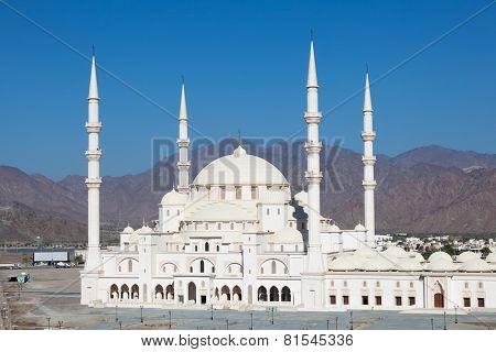 Grand Mosque In Fujairah