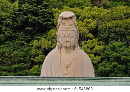 Detail of Traditional Buddist Japanese Temple