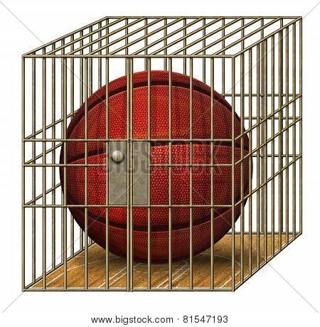Jailed Basketball