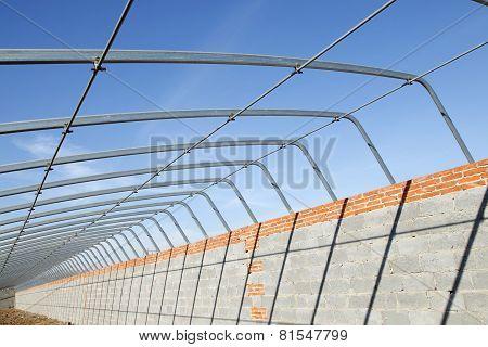 Greenhouses skeleton