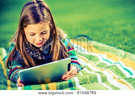 Girl Playing Games