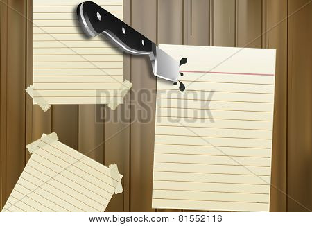 Knife In A Note