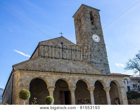 The Pieve Church Of San Pietro A Cascia, Tuscan, Italy