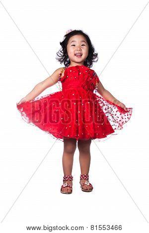 Asain Little Girl