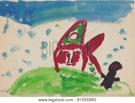 Child Picture Of Witch (bugaboo) By The House On The Hill