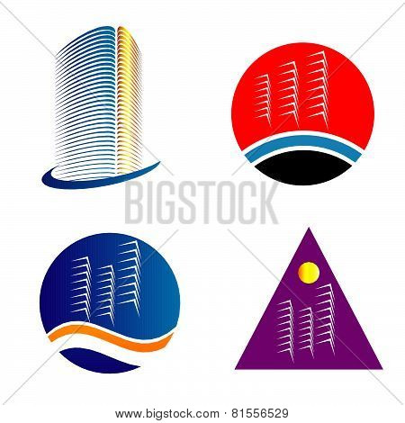 PrintSkyscraper logo template set