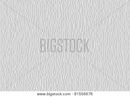 Vibrating Black Vertical Lines On White Background
