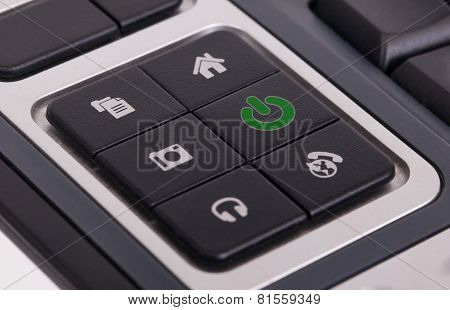 Buttons On A Keyboard - Power