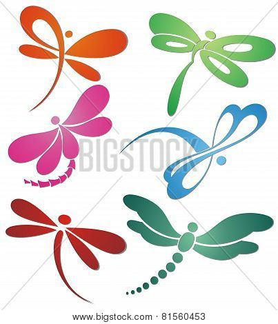 Butterfly(dragonfly ) logo design