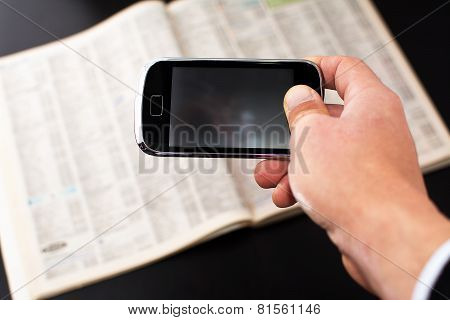 Smartphone And Telephone Directory