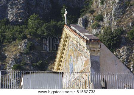 Amalfi Cathedral (it.duomo Di Amalfi), Roof