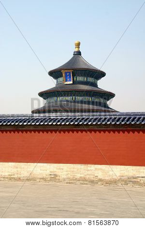 The Beauty Of Detail Ornaments Temple Of Heaven Beijing China