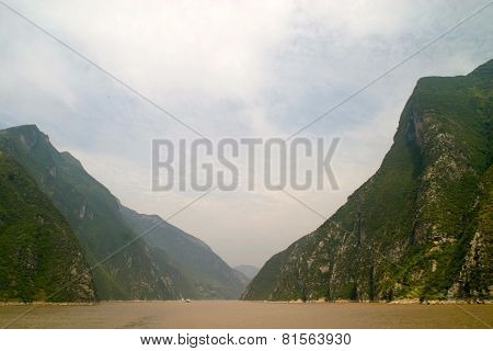 Wu Gorge On Yangtze River