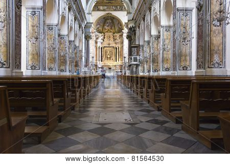Amalfi Cathedral, Liturgical Central Area