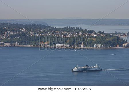 Car Ferry in Puget Sound