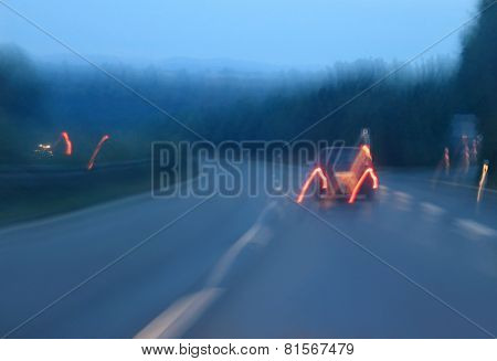 On Misty Highway.