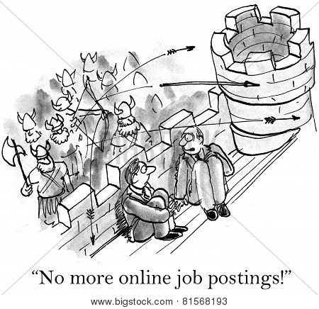 Many Job Applicants