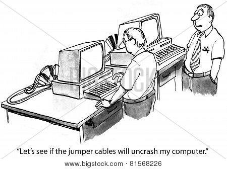 Computer Crashed