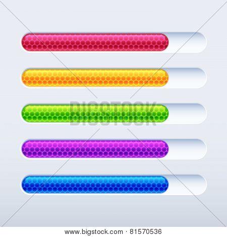 Colorful progress bar