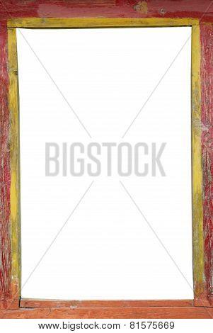 Tibetan Wooden Frame