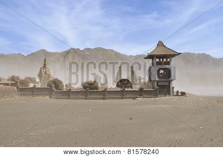 Poten Hindu Temple in Sea of Sands, Bromo Tengger