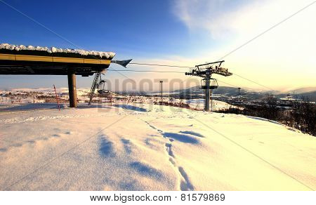 Resort Chair Lift Norway