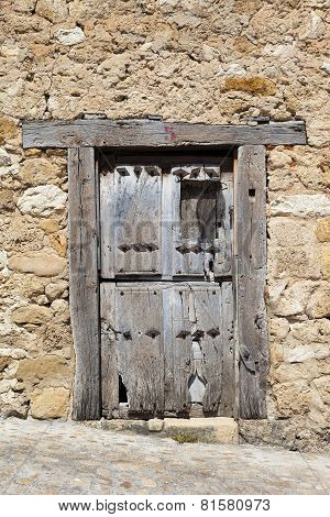 Rustic Old Wooden Door