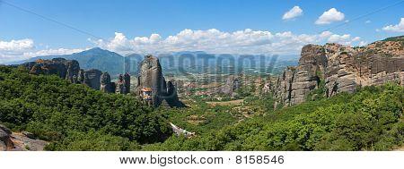Meteora Rock Panoramma
