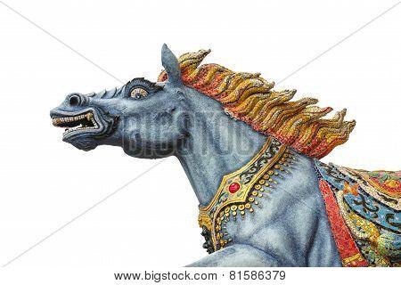 Sculpture Of Goddess Horse