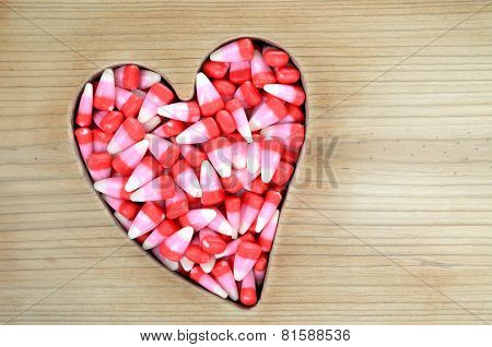 Candy Corn For Valentine Day