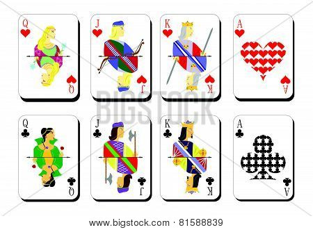 Playing Cards Chirwa Clubs.eps