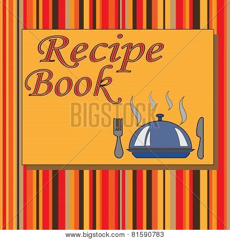 Cook Book Design,vector Illustration