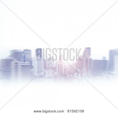 Bangkok  abstract view. Business concept.