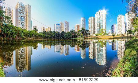 Flamboyant Park in Goiânia