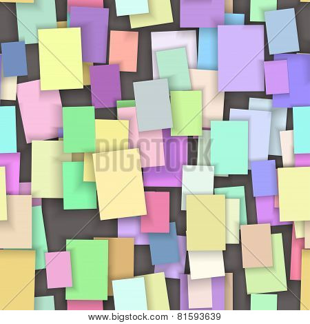 seamless color paper  note background,
