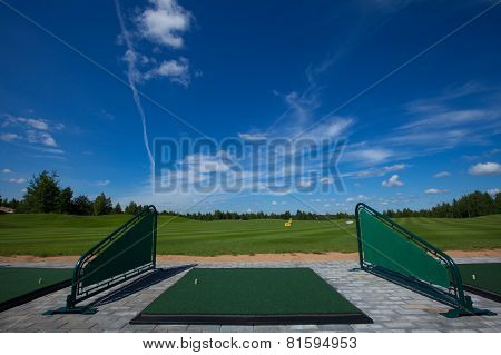 Golf Course for training