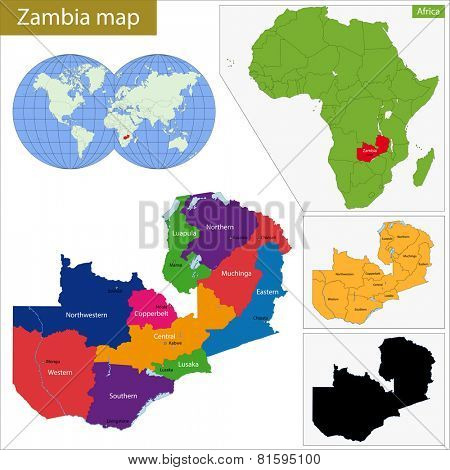 Administrative division of the Republic of Zambia