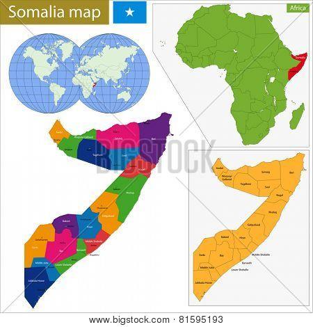 Administrative division of the Federal Republic of Somalia