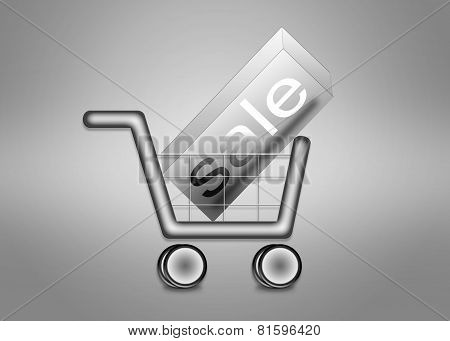 Big Sale In Shopping Cart