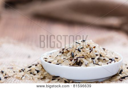 Portion Of Mixed Rice