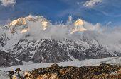 image of shan  - Picturesque view Tian Shan mountain range in Kyrgyzstan - JPG